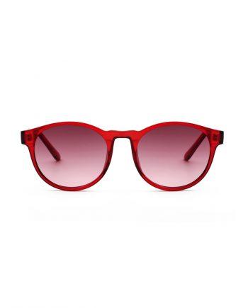 A.Kjaerbede zonnebril model MARVIN rood met rode glazen AKsunnies bril sunglasses