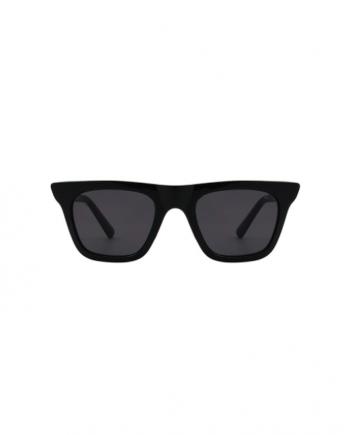 A.Kjaerbede zonnebril model FINE zwart met grijze glazen AKsunnies bril sunglasse