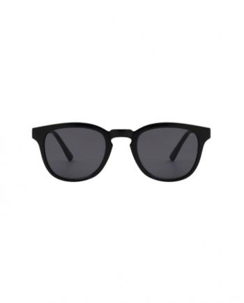 A.Kjaerbede zonnebril model BATE zwart met grijze glazen AKsunnies bril sunglasses