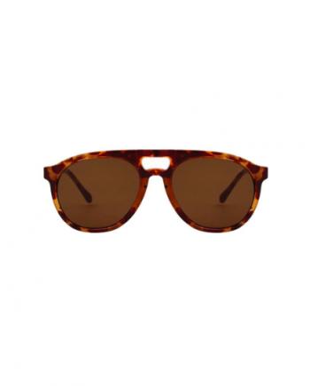 A.Kjaerbede zonnebril model HENRYlicht bruin tortiose met bronze glazen AKsunnies bril sunglasses