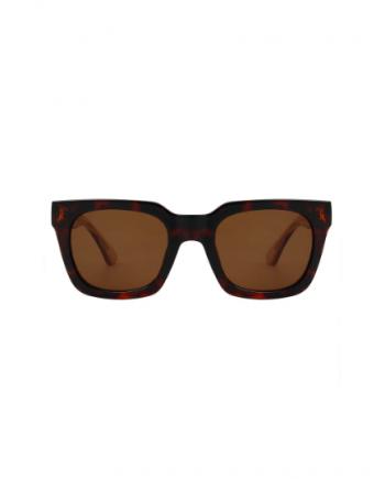A.Kjaerbede zonnebril model NANCY bruin tortiose met bronze glazen AKsunnies bril sunglasses